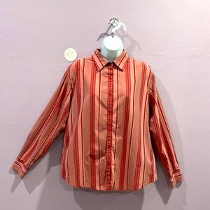 Hunt Club Vintage Streetwear Pink Red Button Down